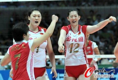 中国女排3-0横扫波兰 大奖赛总决赛取两连胜