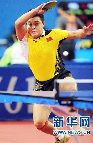 乒乓球:中国男团首战告捷
