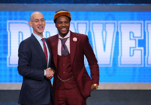 掘金19顺位选得分高手 又一个比斯利登陆NBA