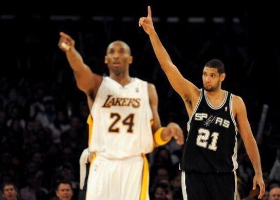 杜兰特评NBA历史最强五人:科比邓肯均在列