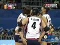 视频:女排决赛中国队重扣出界连丢两分