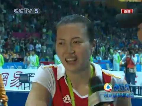 视频:周苏红接受采访 中国女排回来了