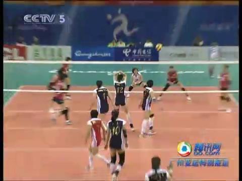 视频:女排小组赛 中国人惊天逆转战胜韩国