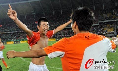 韩鹏:赛季目标穿金靴夺冠军 鲁能比06年更强
