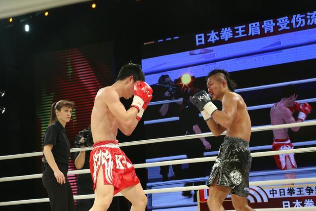 K-1中日争霸赛中国3-4惜败 巴特尔不敌日小将
