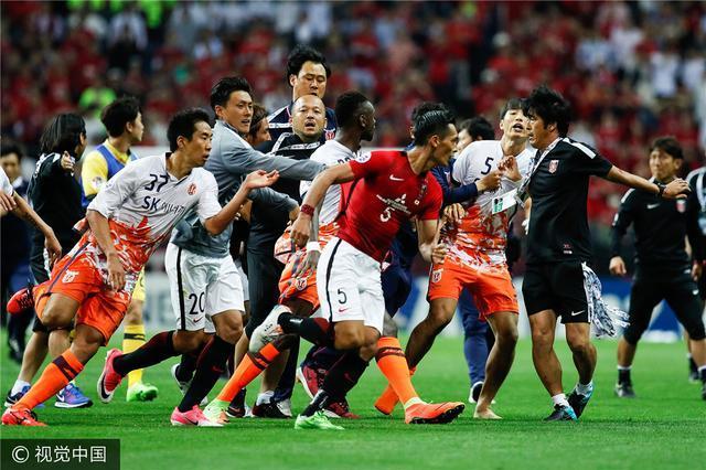 亚冠群殴AFC重罚济州联 中超旧将被禁赛6个月