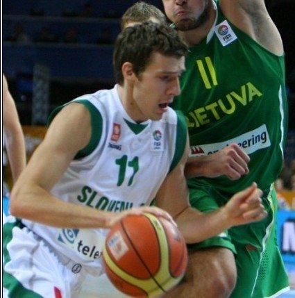 德拉季奇16分失关键球 立陶宛逆转斯洛文尼亚