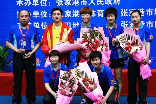 全锦赛丁宁独得2分 北京女乒3-1湖北成功卫冕