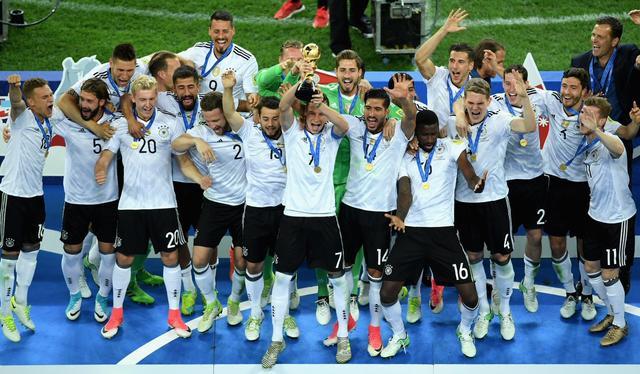 联合会杯-德国1-0胜智利夺冠 施廷德尔制胜