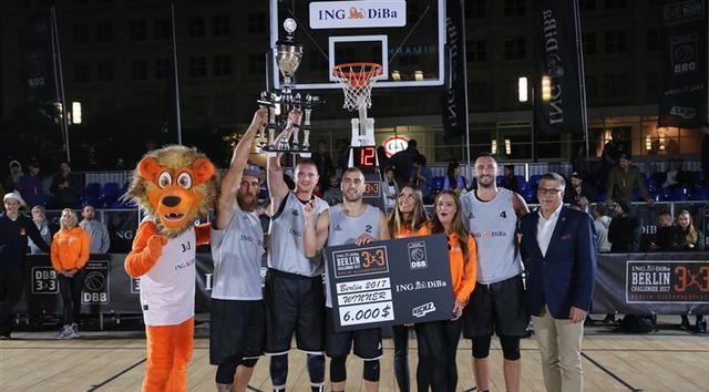 柏林3X3挑战赛诺维萨德夺冠 世界第一人获MVP