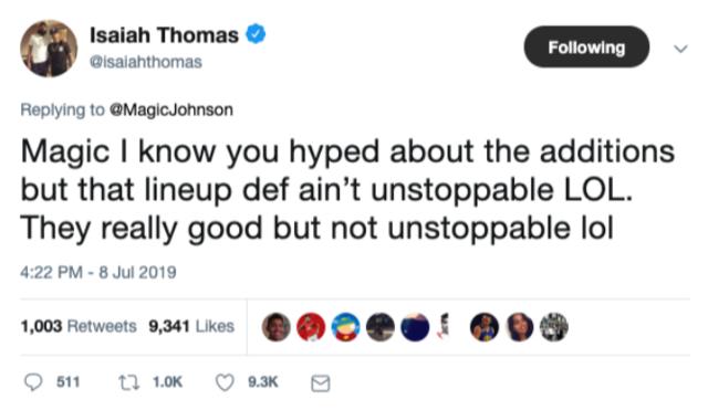 社交圈:杜兰特伊戈达拉离开 勇士下季脱离争冠军团? NBA新闻 第8张