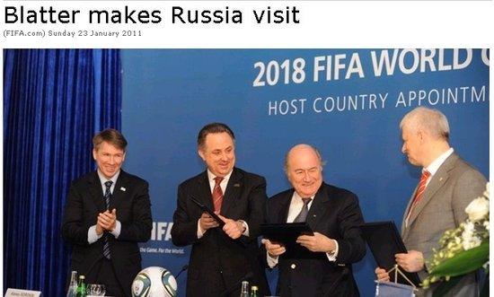 莫斯科爆炸距世界杯签字仅24小时 布拉特哀悼