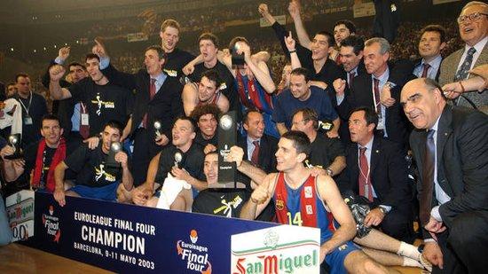 巴塞罗那足球俱乐部1996-2008年间的相关历史