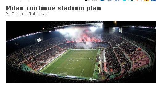 AC米兰新球场重新选址 模板拜仁慕尼黑安联