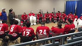 北京冰球队美国行记二 充满国际化的队伍阵容