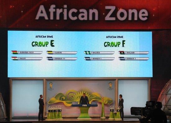 世预赛非洲区抽签结果:阿德巴约或战埃托奥