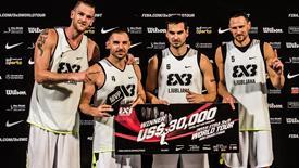 3X3大师赛总决赛落幕 卢布尔雅那夺队史第2冠