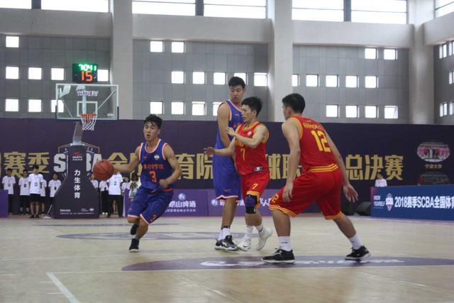 2018全国体育院校篮球联赛决赛开战 赛程出炉