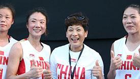高清:中国女队3胜1负出局 灿烂笑容令人动容