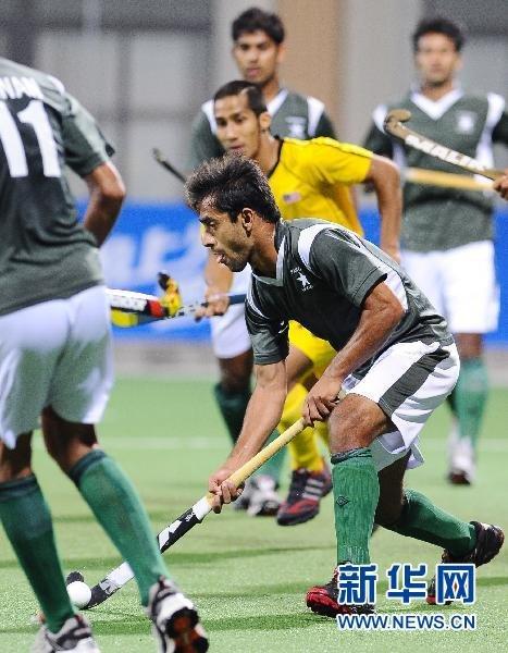 曲棍球:巴基斯坦队获得男子冠军(组图)