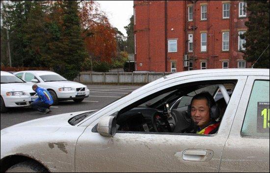 WRC英国之行迈出第一步 刘曹冬勘路顺利完成