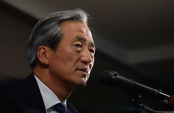 郑梦准宣布竞选FIFA主席:普拉蒂尼并不适合