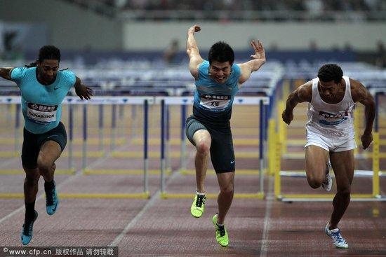 钻石赛谢文骏创生涯最佳获季军 理查德森夺冠