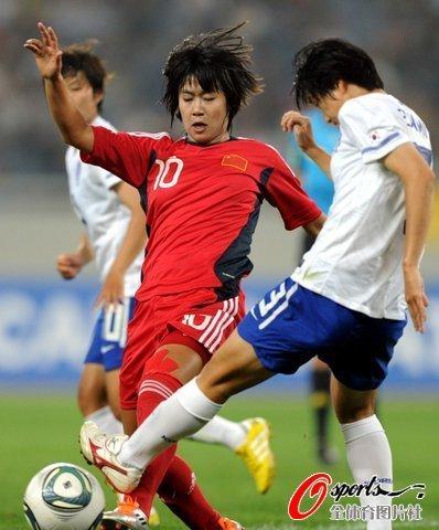 奥预赛-中国女足0-0战平韩国 徐媛劲射险破门