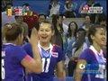 视频:女排小组赛 泰国队把握局点扳回一局