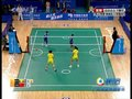 视频:藤球女双 缅甸队头球技高一筹连连得分