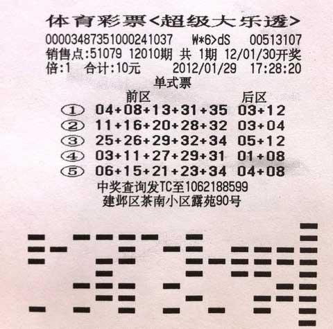 喜中同期大乐透二等 南京俩彩民各有妙招(图)