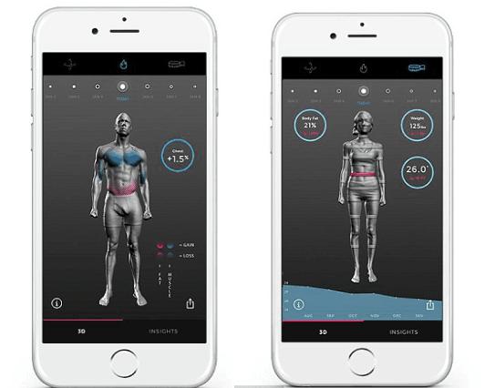 """你有A4腰吗?""""裸体3D健身追踪器""""给你答案"""