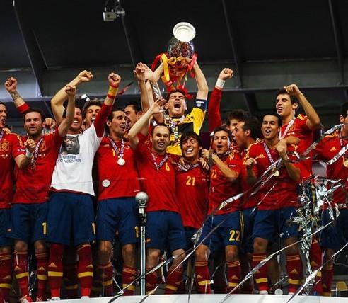 西班牙大赛3连霸史上第1 欧洲杯52年首现卫冕