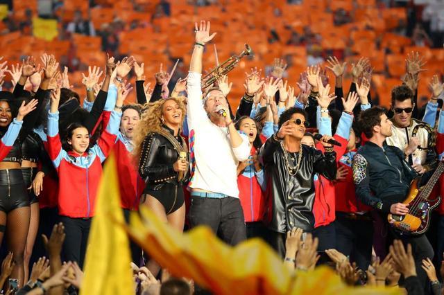 第50届NFL超级碗:体娱跨界 中国收视创历史