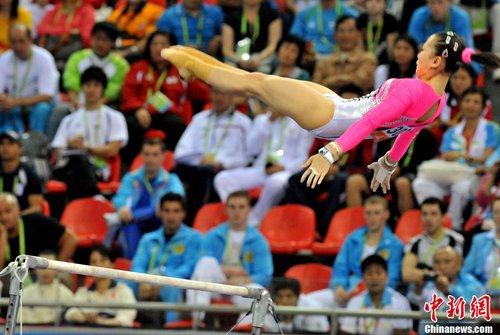 何可欣在广州亚运会的精彩瞬间