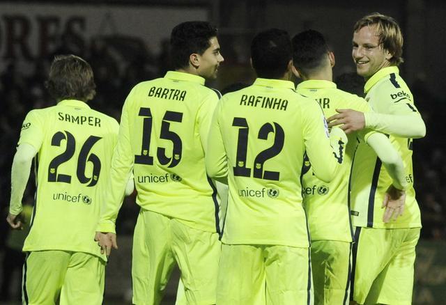 巴塞罗那国王杯前瞻:内马尔伤停 梅西或轮休