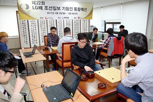 LG杯预选赛江维杰屠厚势胜韩将 中韩战14胜8负