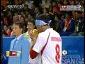 视频:男子藤球预赛 印尼配合失误中国得2分