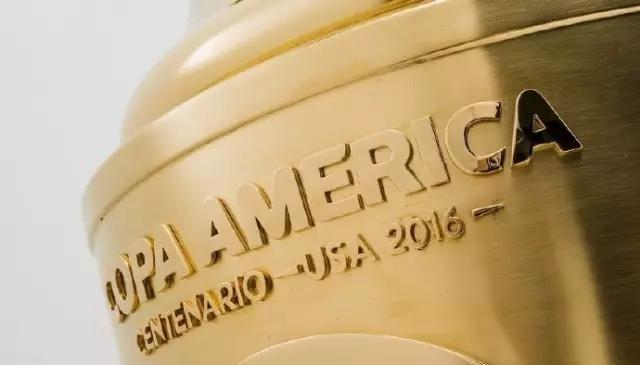 亮瞎眼!百年美洲杯黄金奖杯 镶24K金永久保存