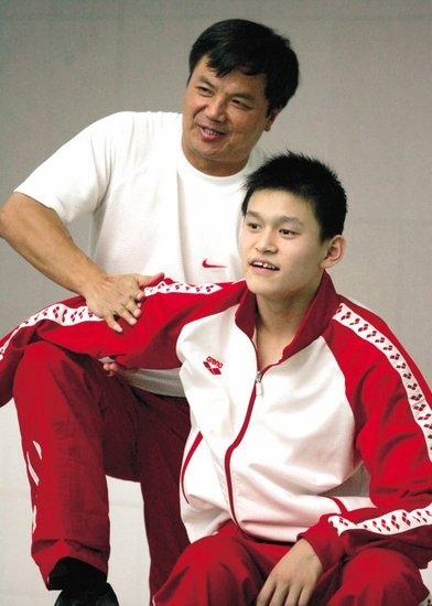 孙杨教练:年纪轻轻就谈恋爱 怎么能训练好?
