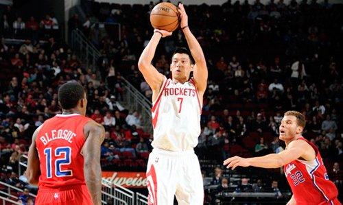 林书豪改进投篮姿势 新赛季欲提高外线命中率