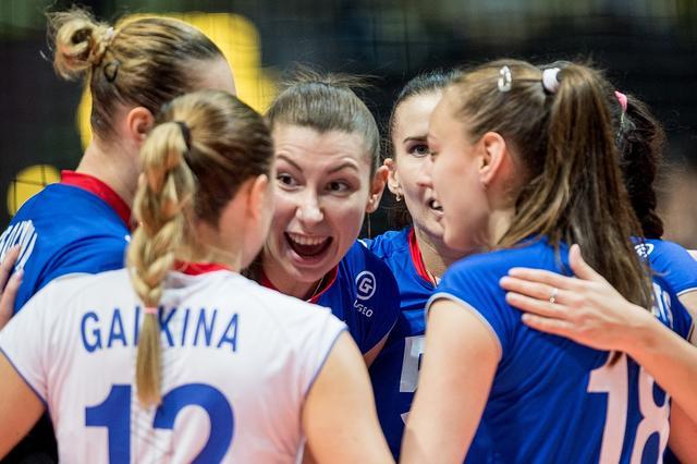 女排大奖赛-中国1-3俄罗斯 朱婷绝境上阵难救主