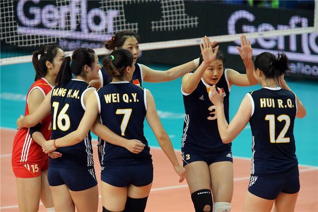 世锦赛-中国女排3-0完胜波多黎各 喜获开门红