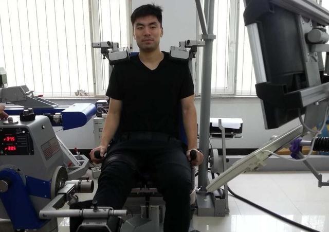李晓旭右腿肌肉恢复良好 盼全运决赛前达最佳