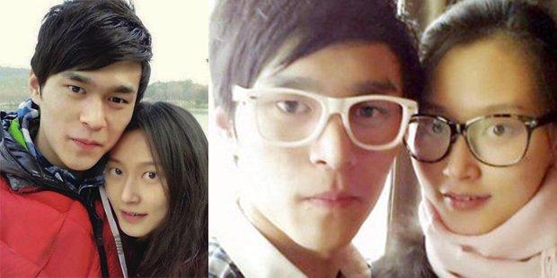 孙杨与比他大6岁的空姐女友甜蜜照