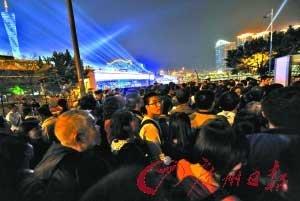 广州亚运开幕式首次预演 观众赞叹:不可思议