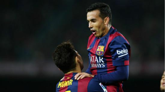 King's Cup - Pedro hats Barca score 12-1 the last 16