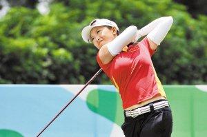 中国高尔夫女队队长黎佳韵:这枚银牌别样沉