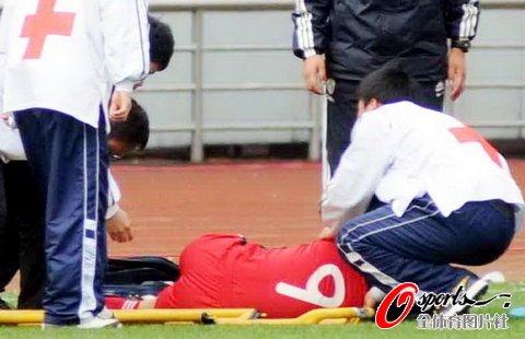 徐媛重伤恐无缘阿尔加夫杯 担忧足球生涯落泪