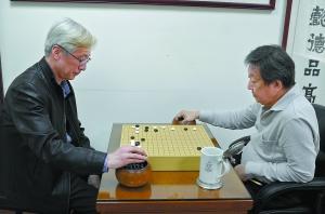 围棋发烧友翁明显:林志玲父亲是我同窗